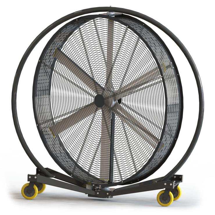 Pivoting Portable Fan