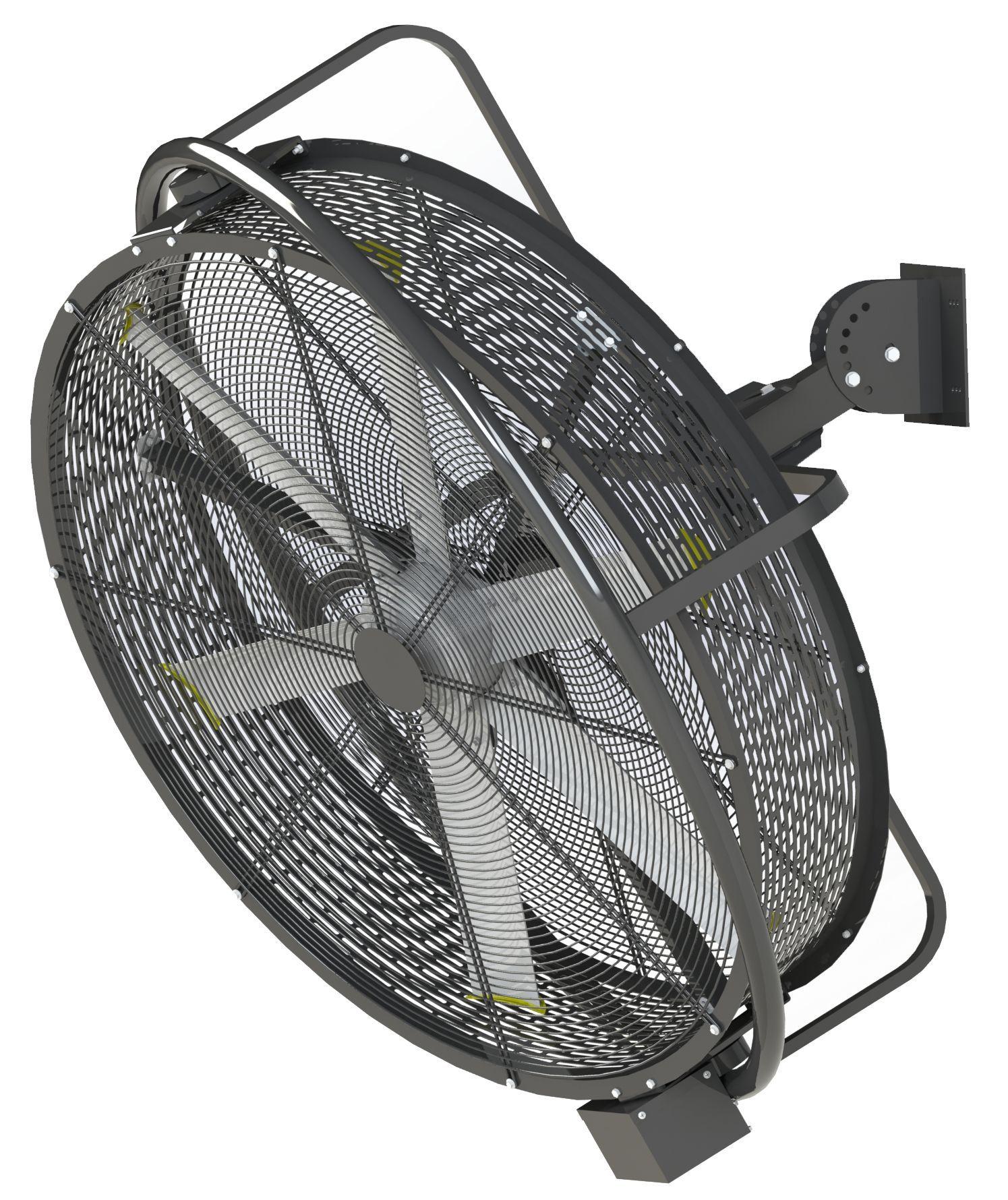 pivoting fan
